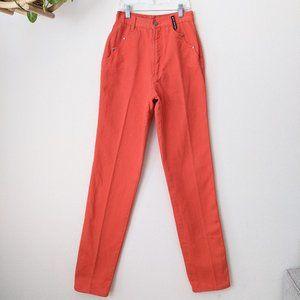 • HP • Vintage • Rockies Orange High Waisted Jeans